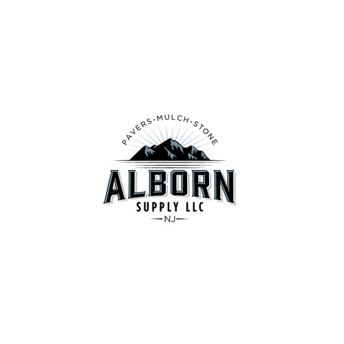 Classic logo for landscape supply company