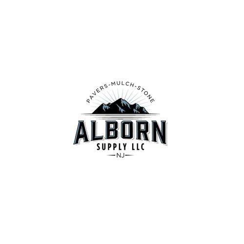 Classic logo for landscape supply company