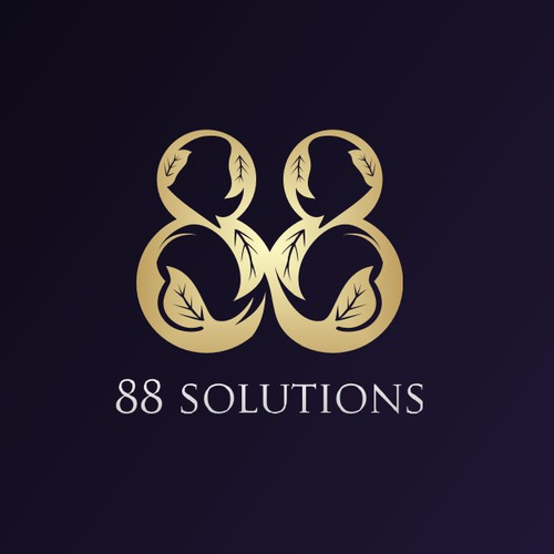 88solutions logo designs
