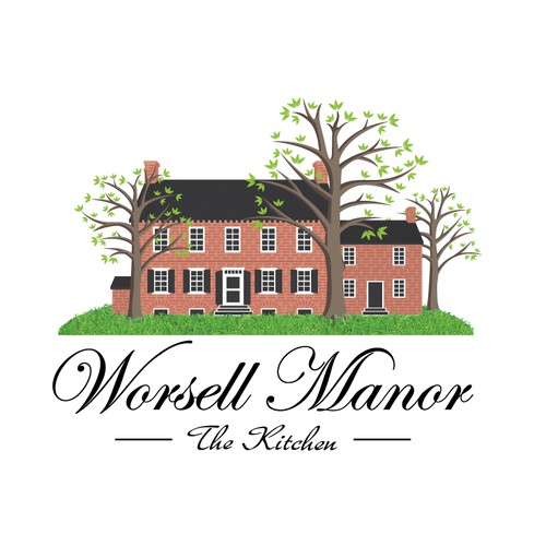 Worsell Manor Logo Design