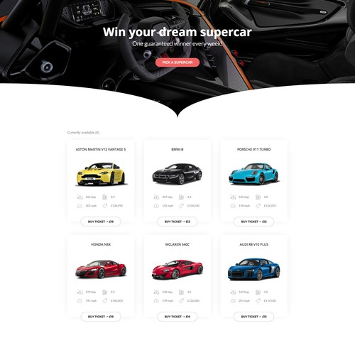 Win A Supercar