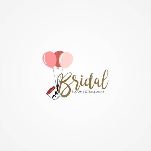 floral/ balloon company needs eye popping logo
