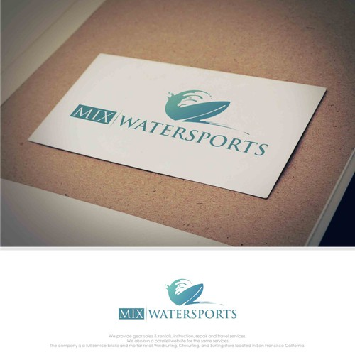Design a logo for Water Sports