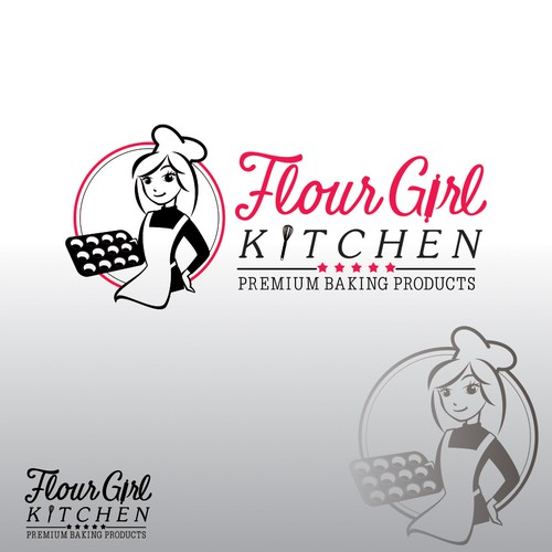 Eye catching, Unique, Memorable Logo Needed For Premium Quality Baking Products Company