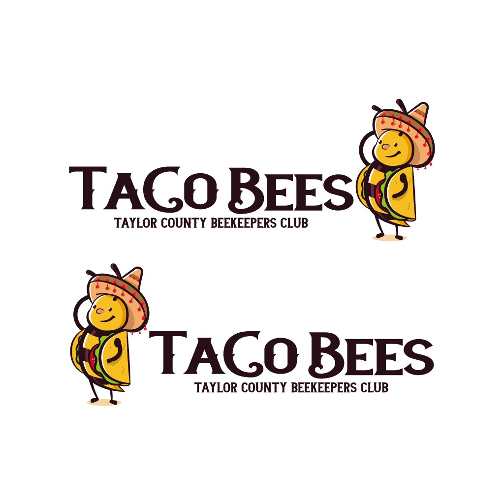 Tacos and Bees - Taylor County Beekeepers need a viral logo