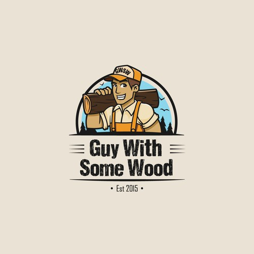 Create a captivating Logo for a creative carpenter