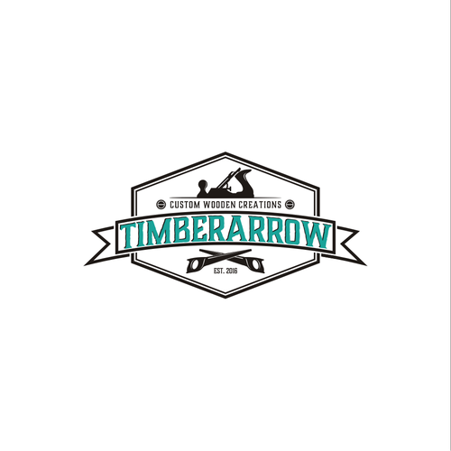 Old-fashioned, refined logo for a woodworking business