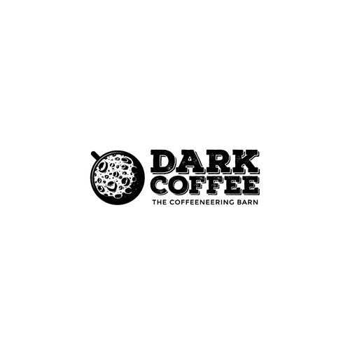 Dark Coffee : Logo Design