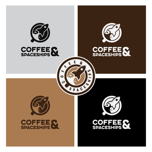 Clever Coffee shop logo