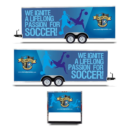 Trailer graphics wrap