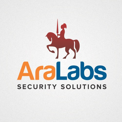 Create a unique design for an energetic security company fighting cybercrime