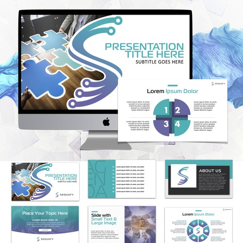 Presentation Template for Sequafy