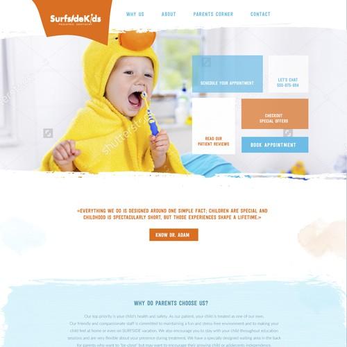 Kids Website Concept