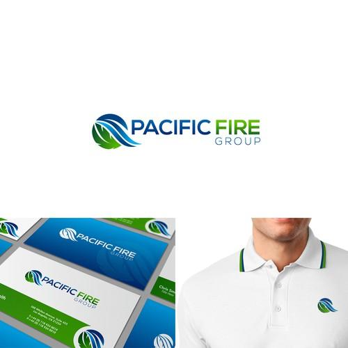 logo concept pacific fire