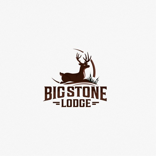 Strong, whitetail logo