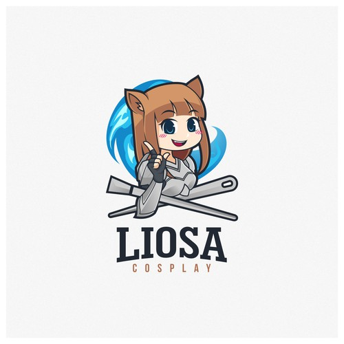 Fun Logo Cosplayer Logo Designs