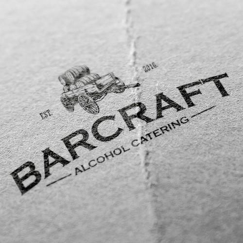 Alcohol catering company logo