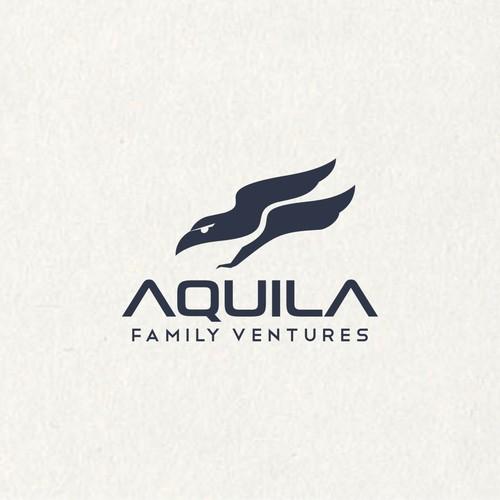 logo for aquila family ventures