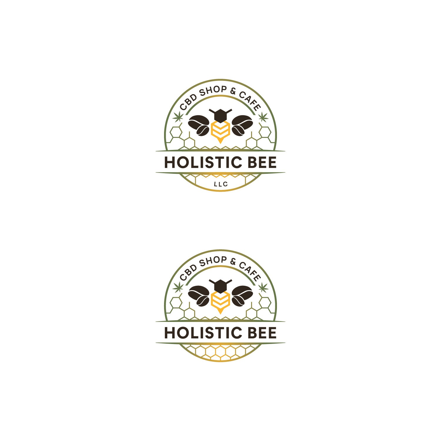 Attractive CBD logo that exudes a standard of health and well being