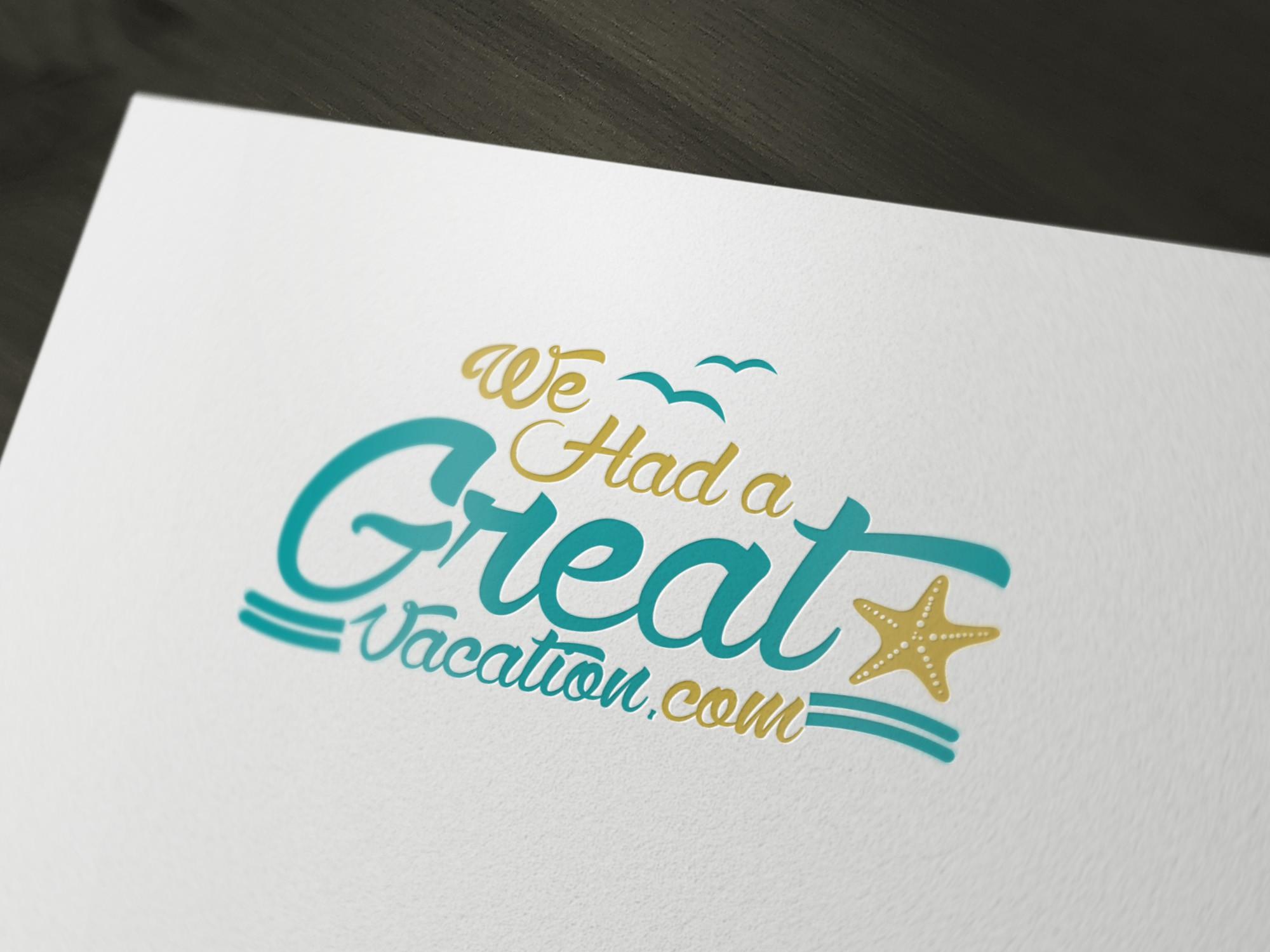 Logo for WeHadaGreatVacation.com