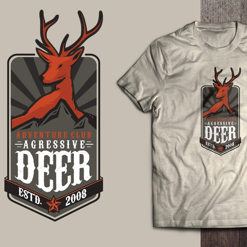 AGRESSIVE DEER ADV. CLUB LOGO