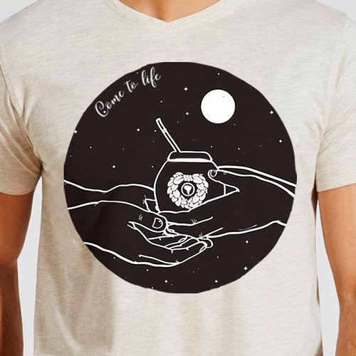Yerba Mate T-shirt Design