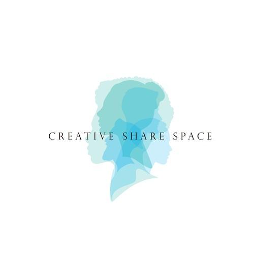 Logo for a creative sharing platform / website