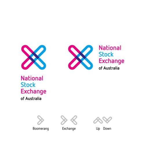 Logo design for National Stock Exchange of Australia