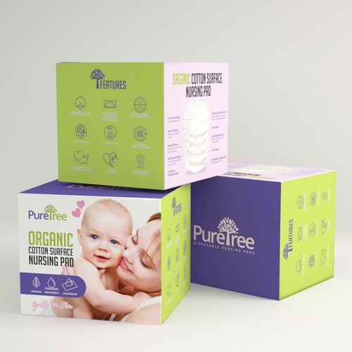 Packaging for Nursing Pad
