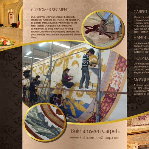 Make an Elegant Brochure for a Flooring Company