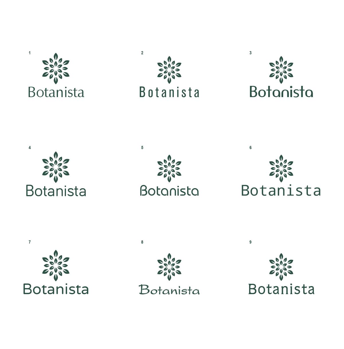 "NEW BRAND - NEW LOGO ""BOTANISTA"" - the natural Swiss-Brand"