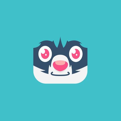 Playful Raccoon App Icon