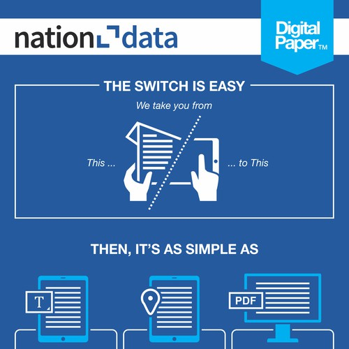 Simple and Clean Infographic for Nation Data