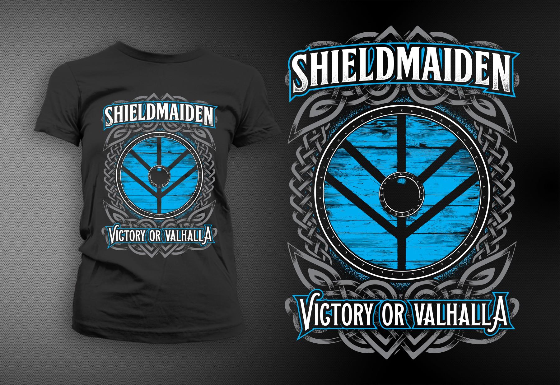 Shieldmaiden Lagertha Viking T-shirt Design Needed