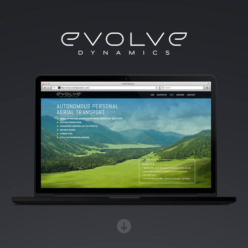 Evolve Dynamics Website Redesign