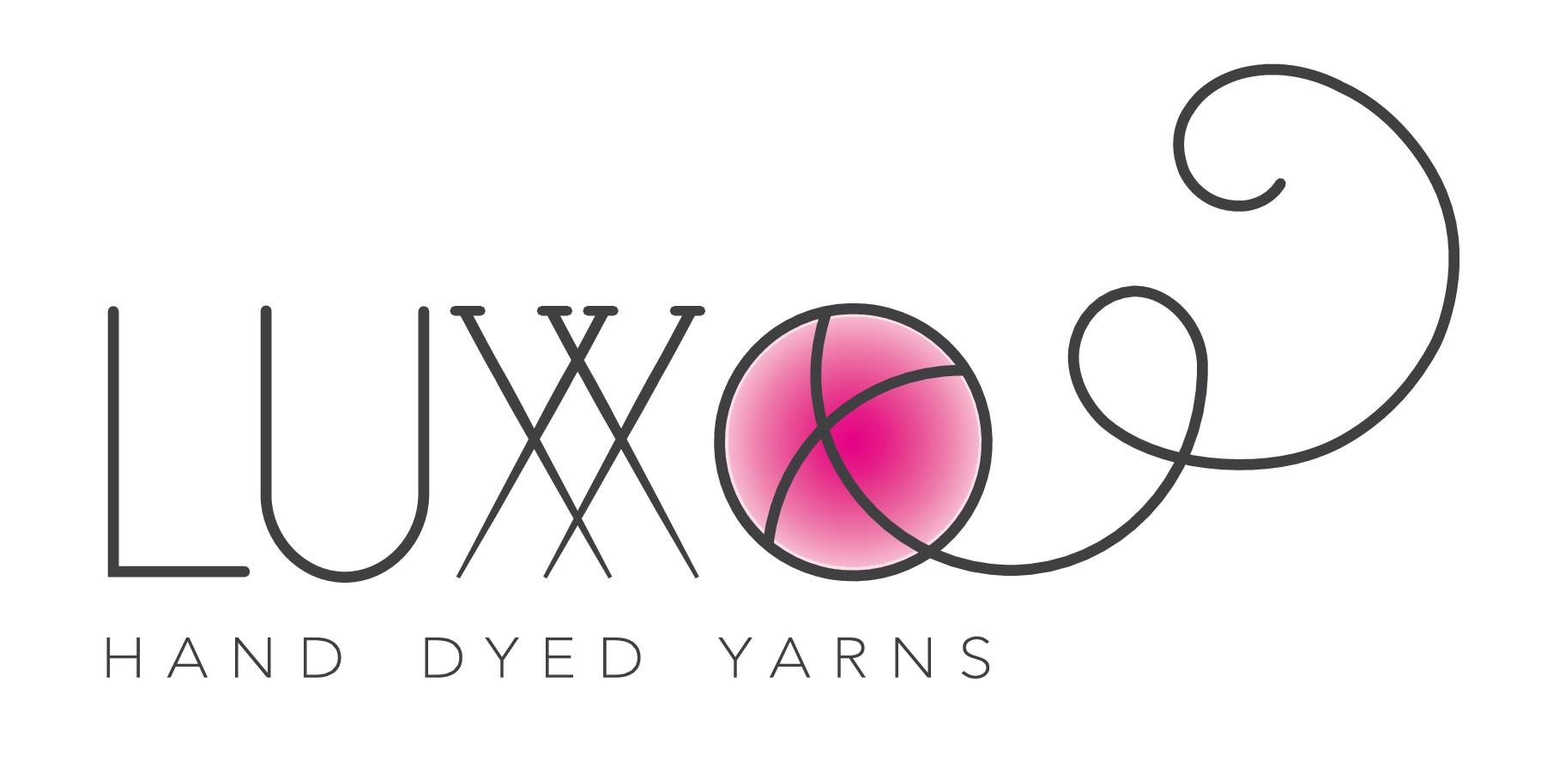 "create a logo for ""hand dyed yarns"""