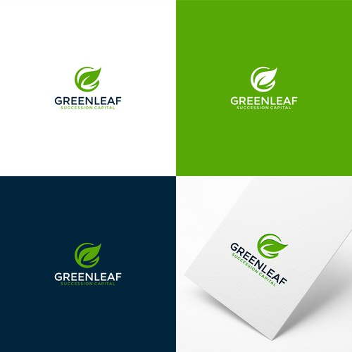 Logo Concept For Greenleaf Successfull Capital