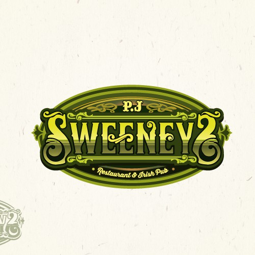 Irish Pub Logo Design