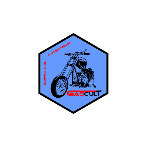 create a cool logo for a bunch of guys who love wrenches & motorcyles
