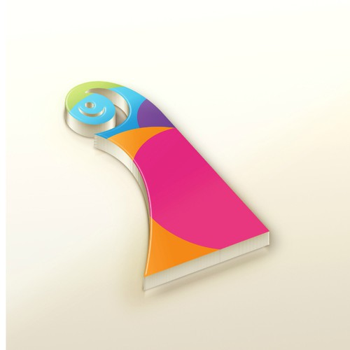 Minimalistic logo for web development company