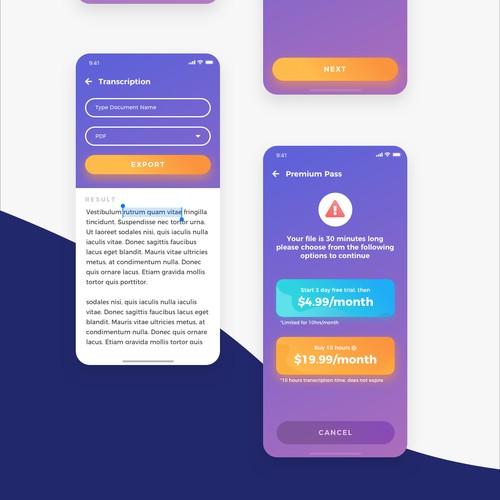 Transcription Mobile Apps