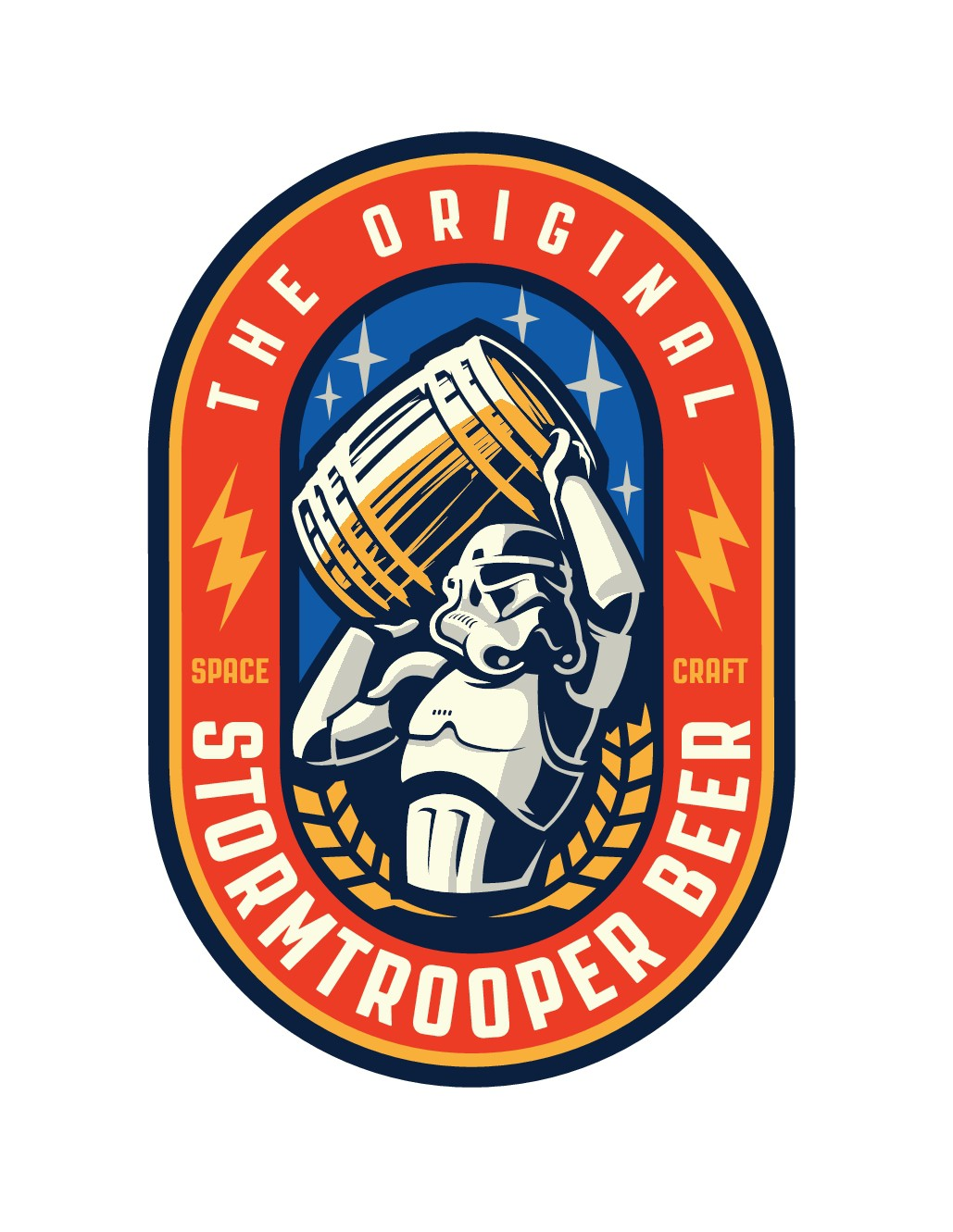 Stormtrooper Beer needs an out of this world logo
