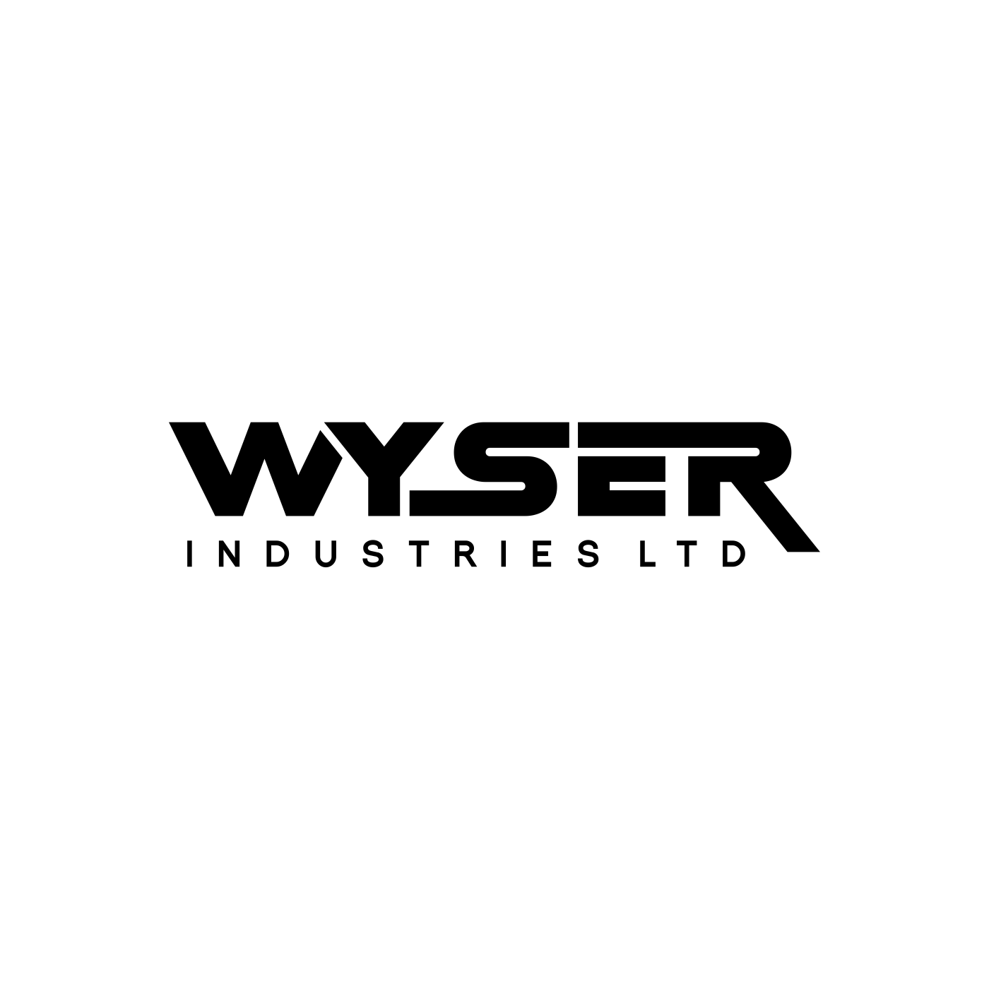 Clean, professional logo for Manufacturing Company