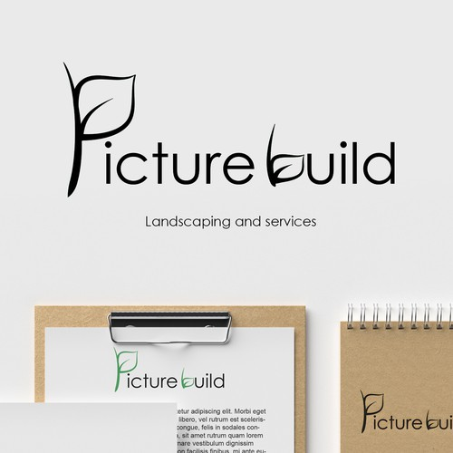 Logo for landscaping and services company