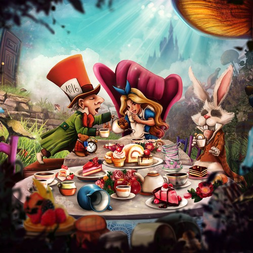 illustration: Alice in Wonderland