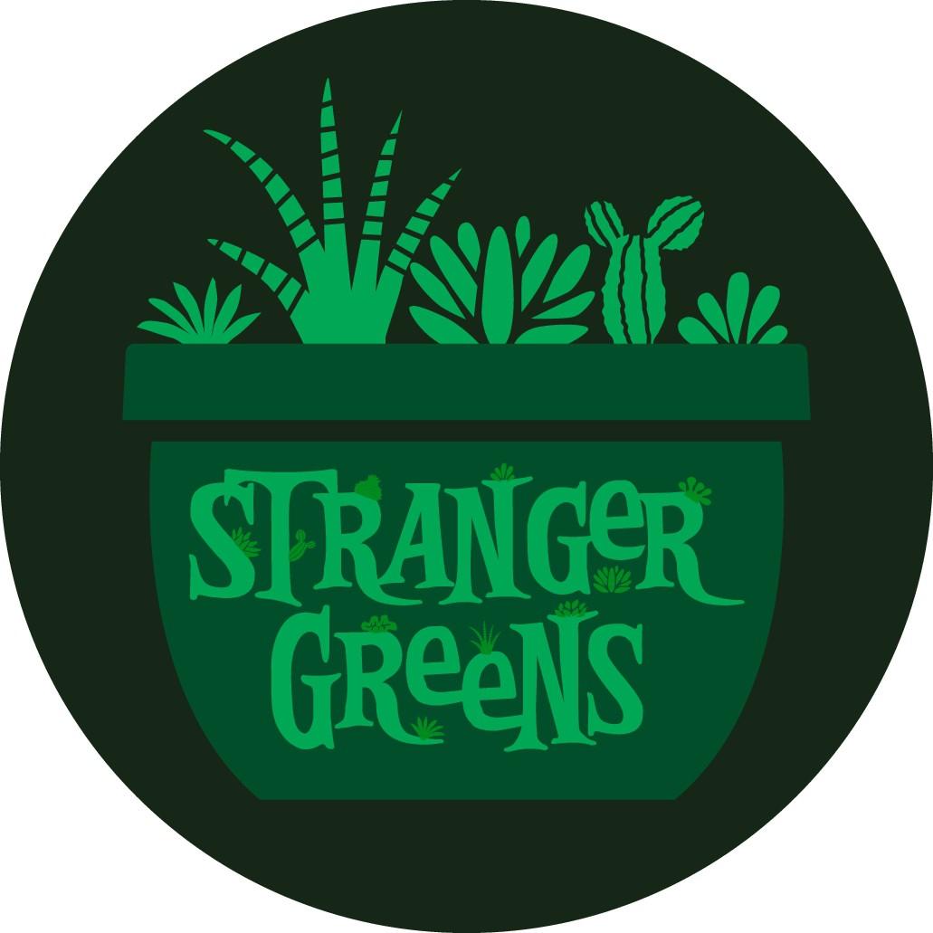 """Design a custom logo for plant/terrarium company """"Stranger Greens"""""""