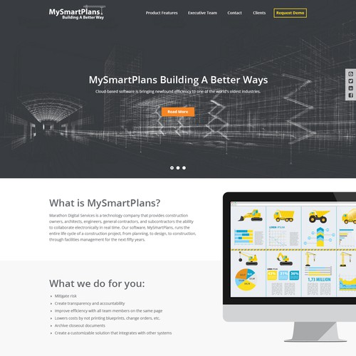 MySmartPlans Website Design