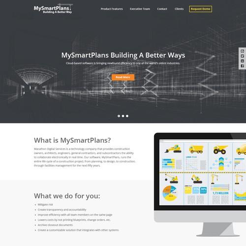 MySmartPlans Website Design