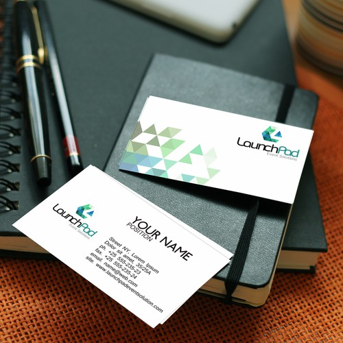 Bussines card and modern logo