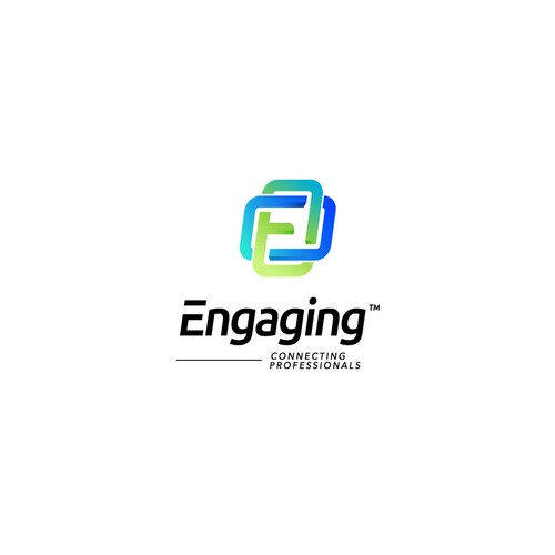 Creative logo concept for Engaging